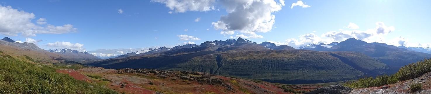 Hier stehen überall wunderschöne Berge rum...