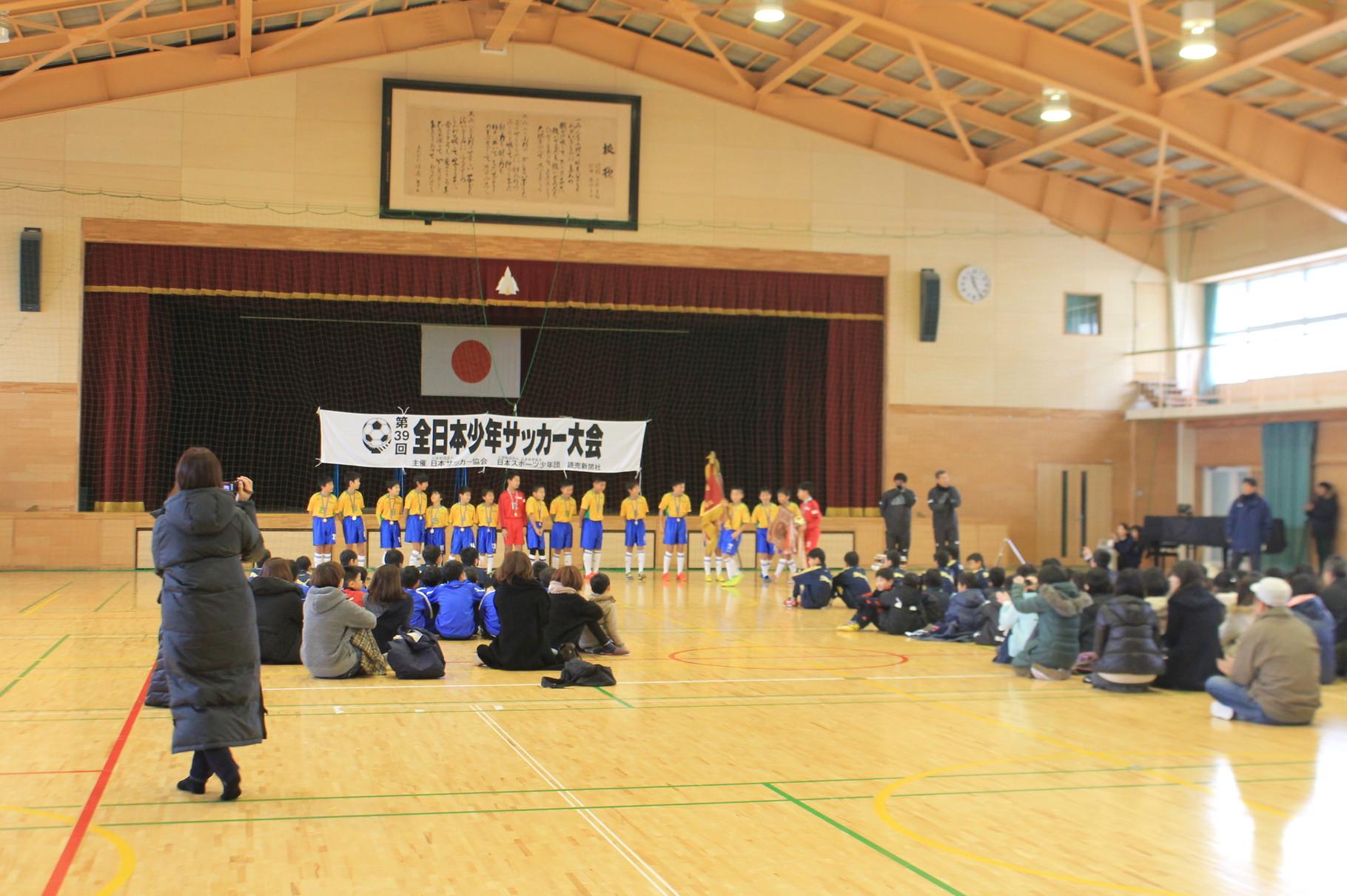 12月23日(水)小杉SC壮行会