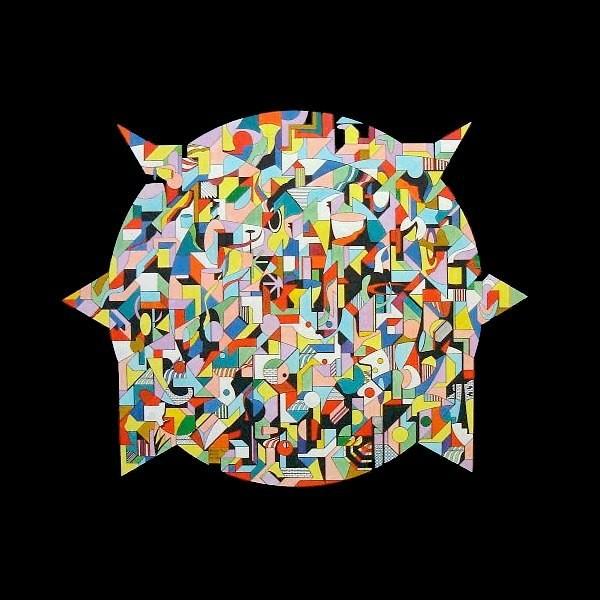 Pointed 60 x 50 cm ©Marlon Paul Bruin