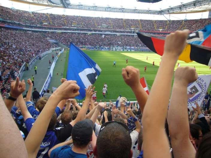 Das erste Tor in Frankfurt auf dem Weg nach Europa