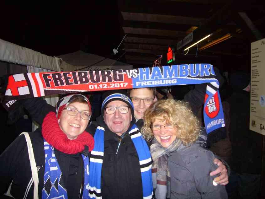 Auswärtsfahrt nach Freiburg im Dezember
