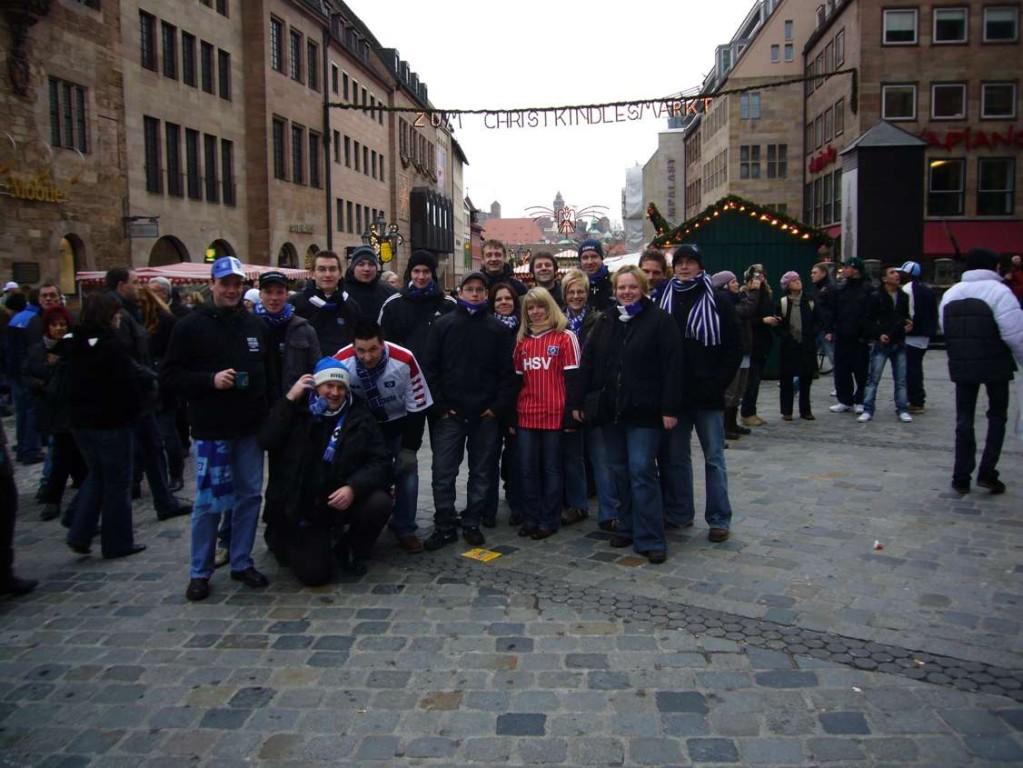 Auswärtsspiel gegen Nürnberg im Dezember