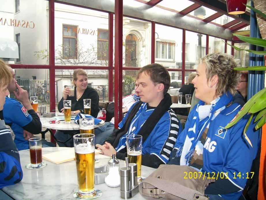 Auswärtsspiel gegen Bremen im Dezember