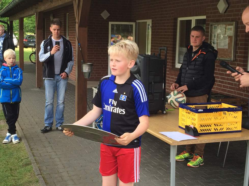 Sieger beim BL Fanclubturnier des SV Langwedel