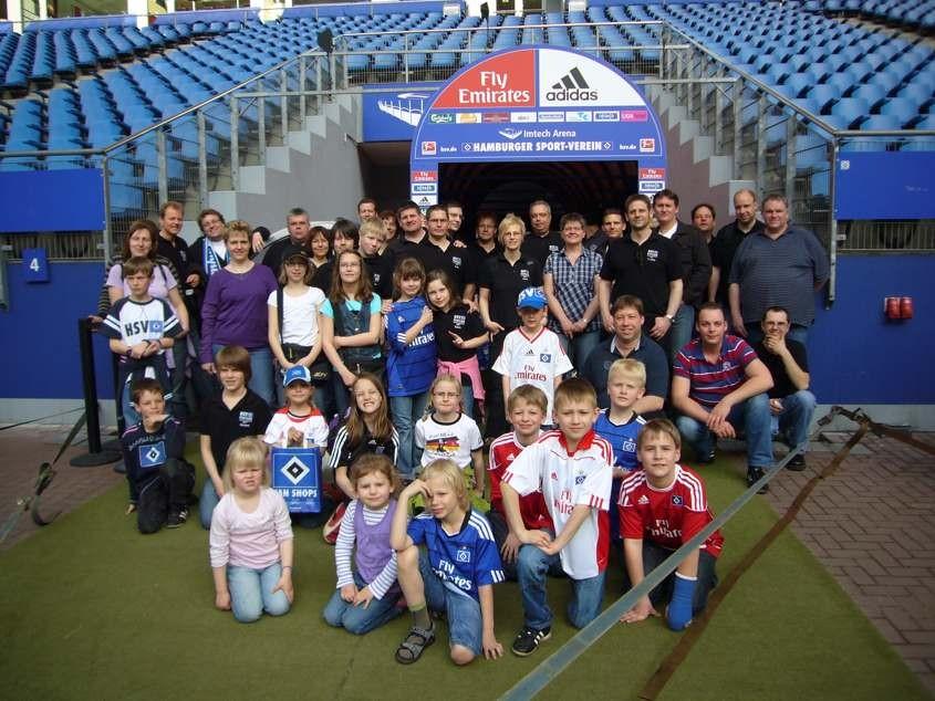 HSV Tag mit Stadionführung im April 2011
