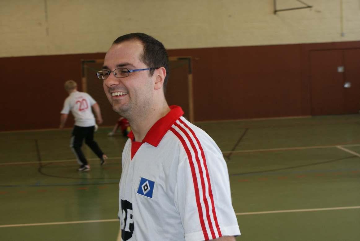 Internes Hallenfußballturnier im Februar