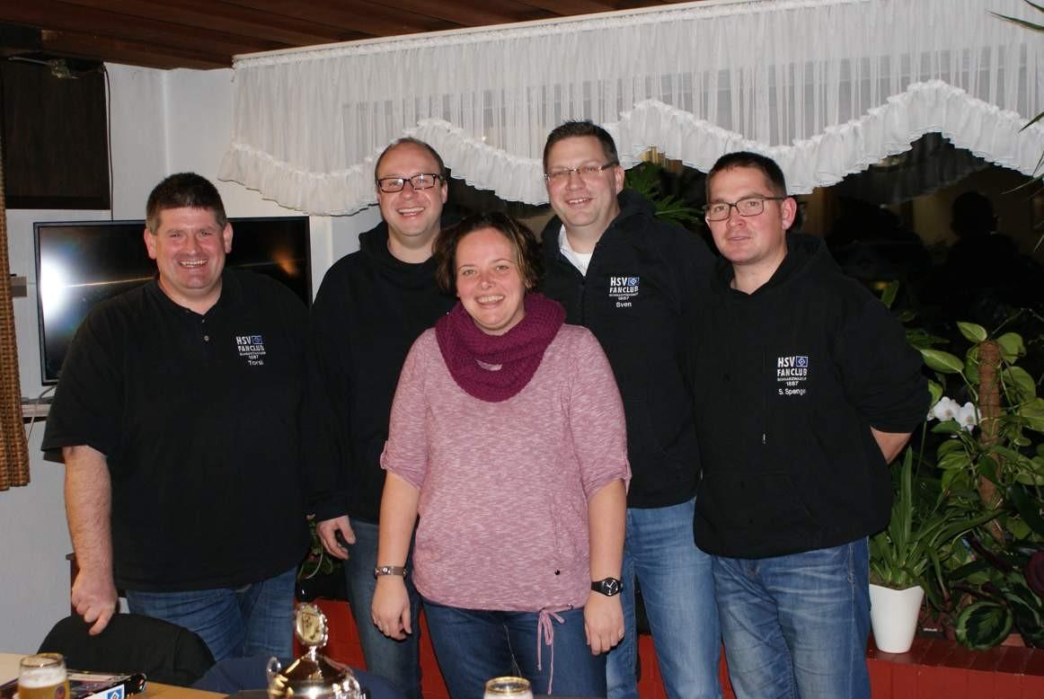 Neuer (alter) Vorstand Jahreshauptversammlung 2015
