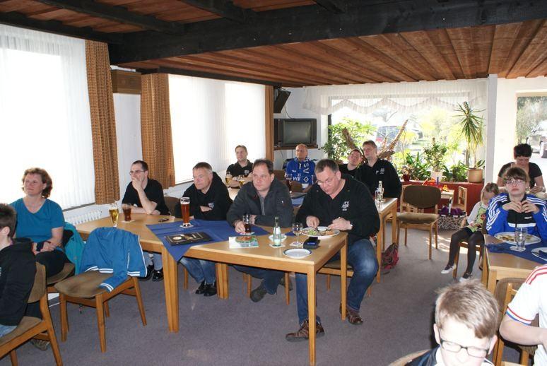 Internes Hallenturnier und PV gegen Gladbach im März