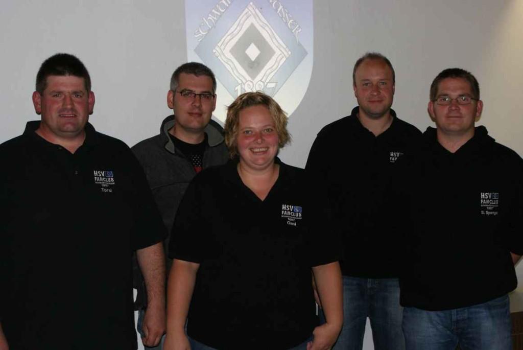 Der Vorstand auf der JHV des OFC Sptember 2009