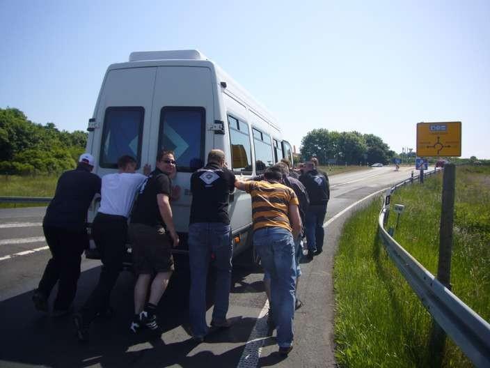 Der Rückweg aus Frankfurt!!! (wird keiner so schnell vergessen...)