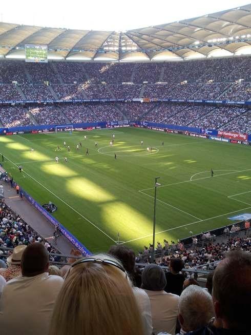 HSV gegen Barca im Juli 2012