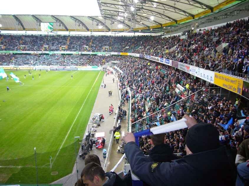 Auswärtsspiel gegen Wolfsburg im März