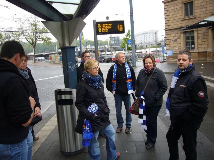 Auswärtsspiel gegen Mainz im Mai 2015