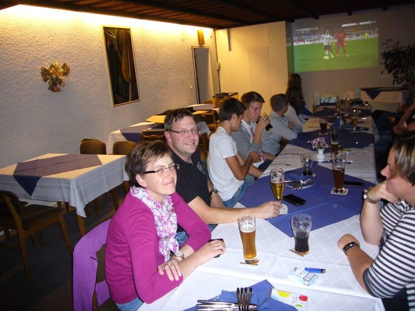 Public Viewing Auswärtsspiel gegen Gladbach September 2015