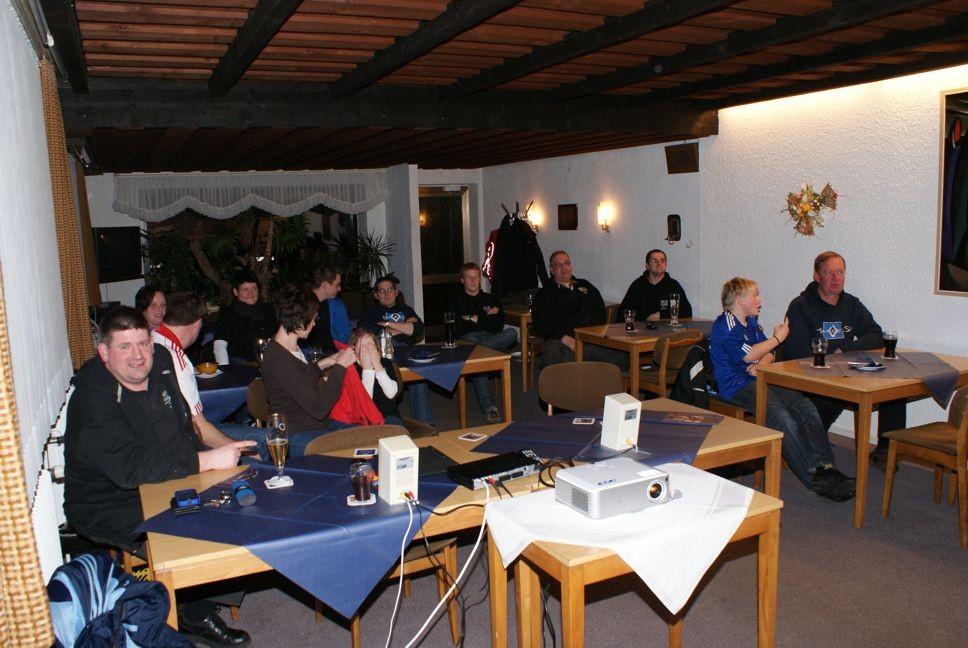 Schalke 04 gegen den HSV im Januar 2011