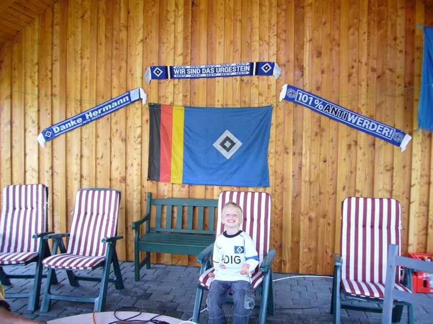 Saisonabschluß gegen Aachen im Juni