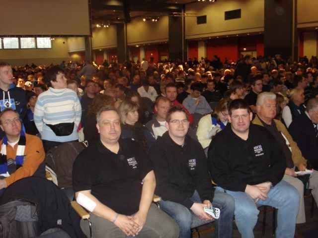 Mitgliederversammlung im CCH Hamburg im Januar
