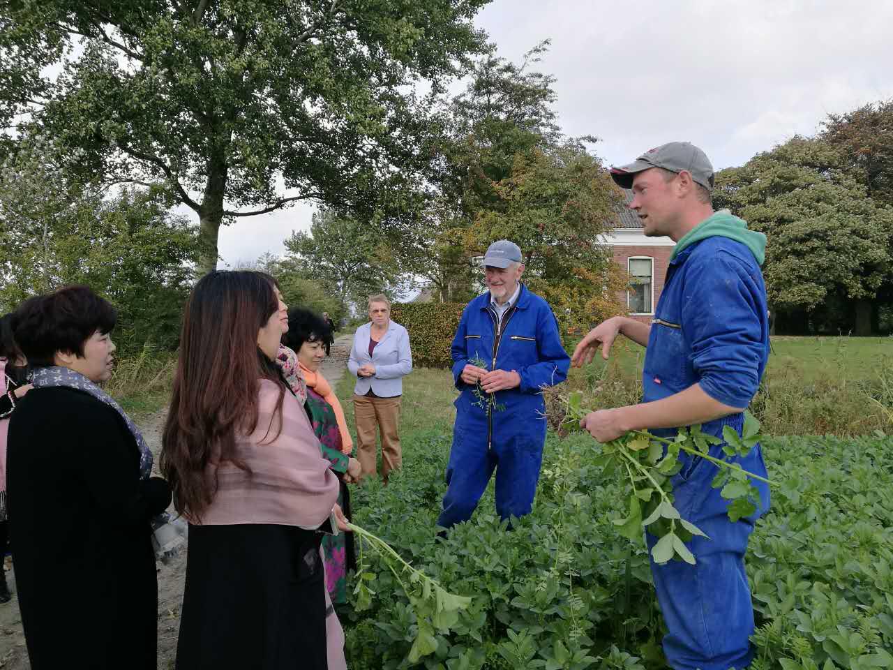 Bezoek aan de biologische boerderij Horaholm