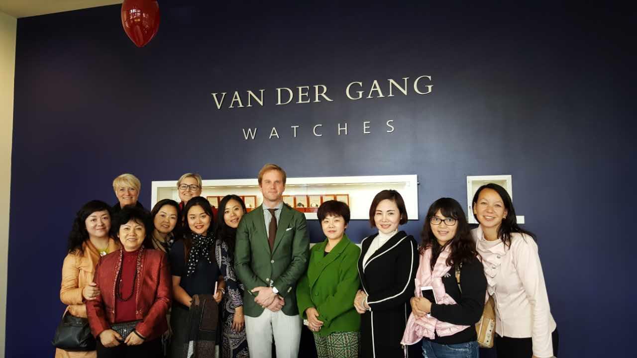 Bezoek aan van der Gang horloges