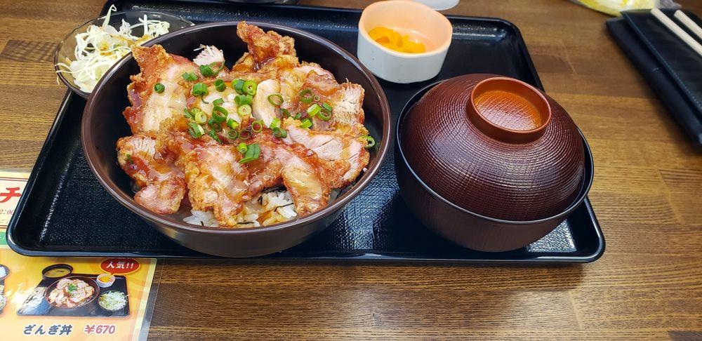 NARUTOYA、炸鶏丼定食