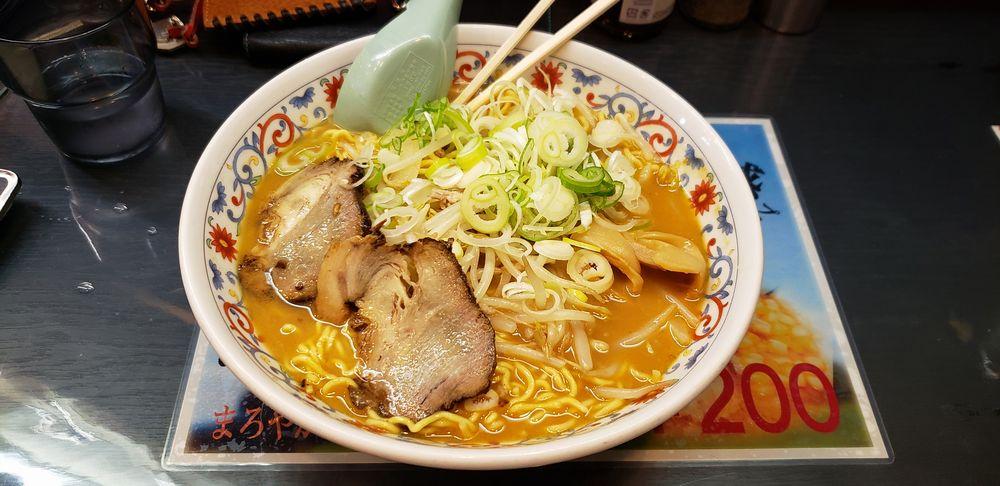 工房加藤拉麺、稍辣味噌拉麺
