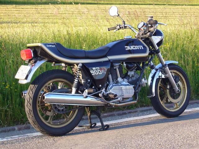 my Ducati 900SD Darmah Jg. 78