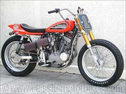 legendäre Harley Davidson 750 XR