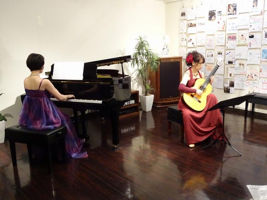 ギターとピアノと歌のコンサート「Bouquet de bonbons」