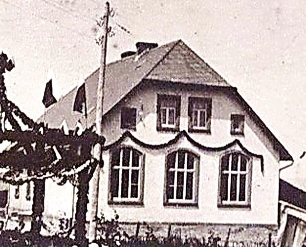 Schule Ammeldingen in den 1930er Jahren