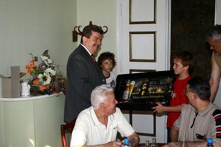 Empfang beim Bürgermeister von Wielun 2008 (Foto Kai Stephan)