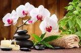 Blumenstrauss & Wellnessymbole