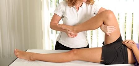 Osteopathie Beinbehandlung