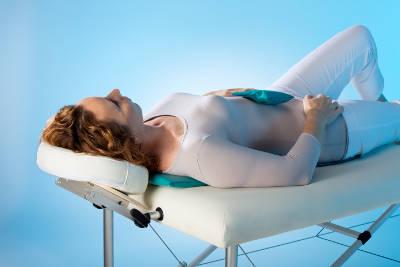 Segmentaltherapie mit Applikatormatte und Pad