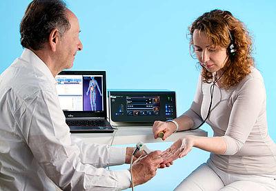 Holopathische  Testung über die speziellen Akupunkturpunkte