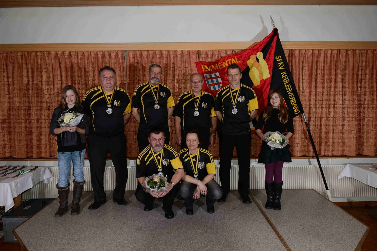 Absenden Signau 2012 Klub - Cup Emmental 2. Rang