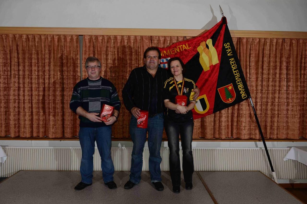 Absenden 2012 Signau Ehrungen SM 2012 Kiener Franziska Kat. C 5. Rang