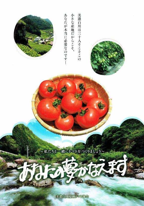 トマト農家 就農希望者募集 岐阜県