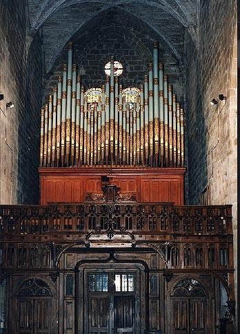 L'orgue de l'église Saint Sauveur