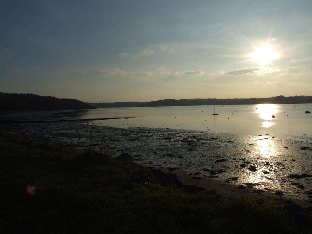 Coucher de soleil sur St Sulliac