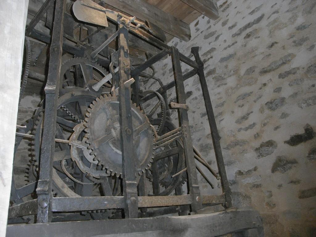 Mécanisme de l'horloge de Tour de l'horloge