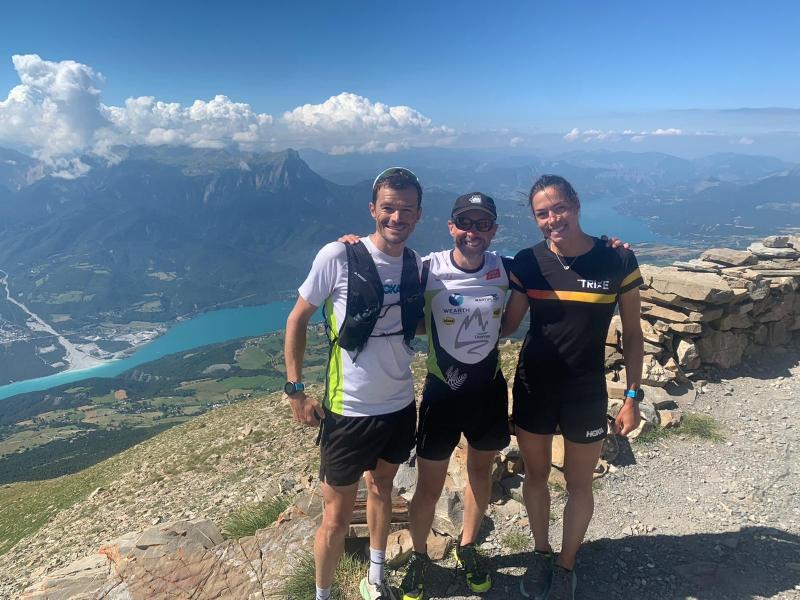 Avec Charlotte et Fred au mont Guillaume