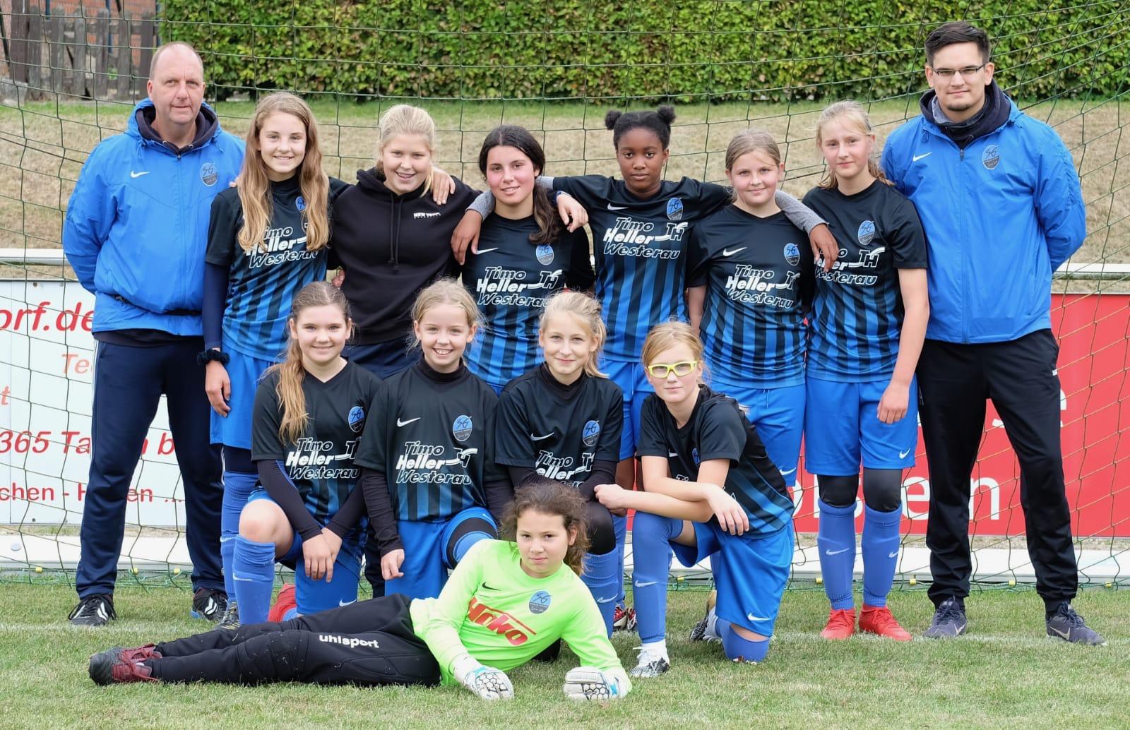 Foto der D-Mädchen aus der Saison 2018/2019