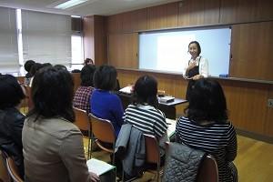 東京都内小学校PTA主催講演会