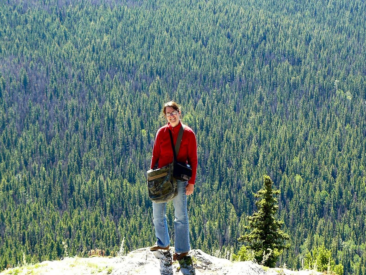 <B>Wanderung auf den Mount Pope