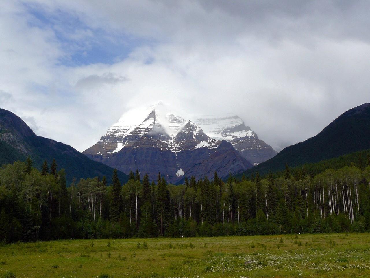 <B>Der Mount Logan mit 5959 m der höchste Berg Kanadas