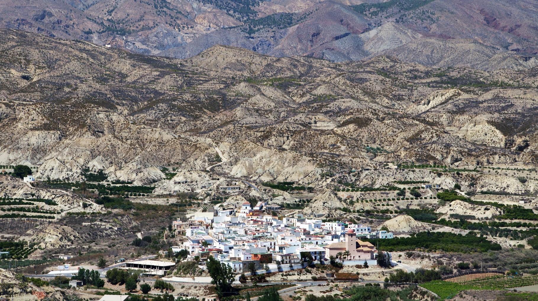 <B>Die Alpujarras am Rande der Sierra Nevada sind eine äußerst ländliche Gegend.</B>