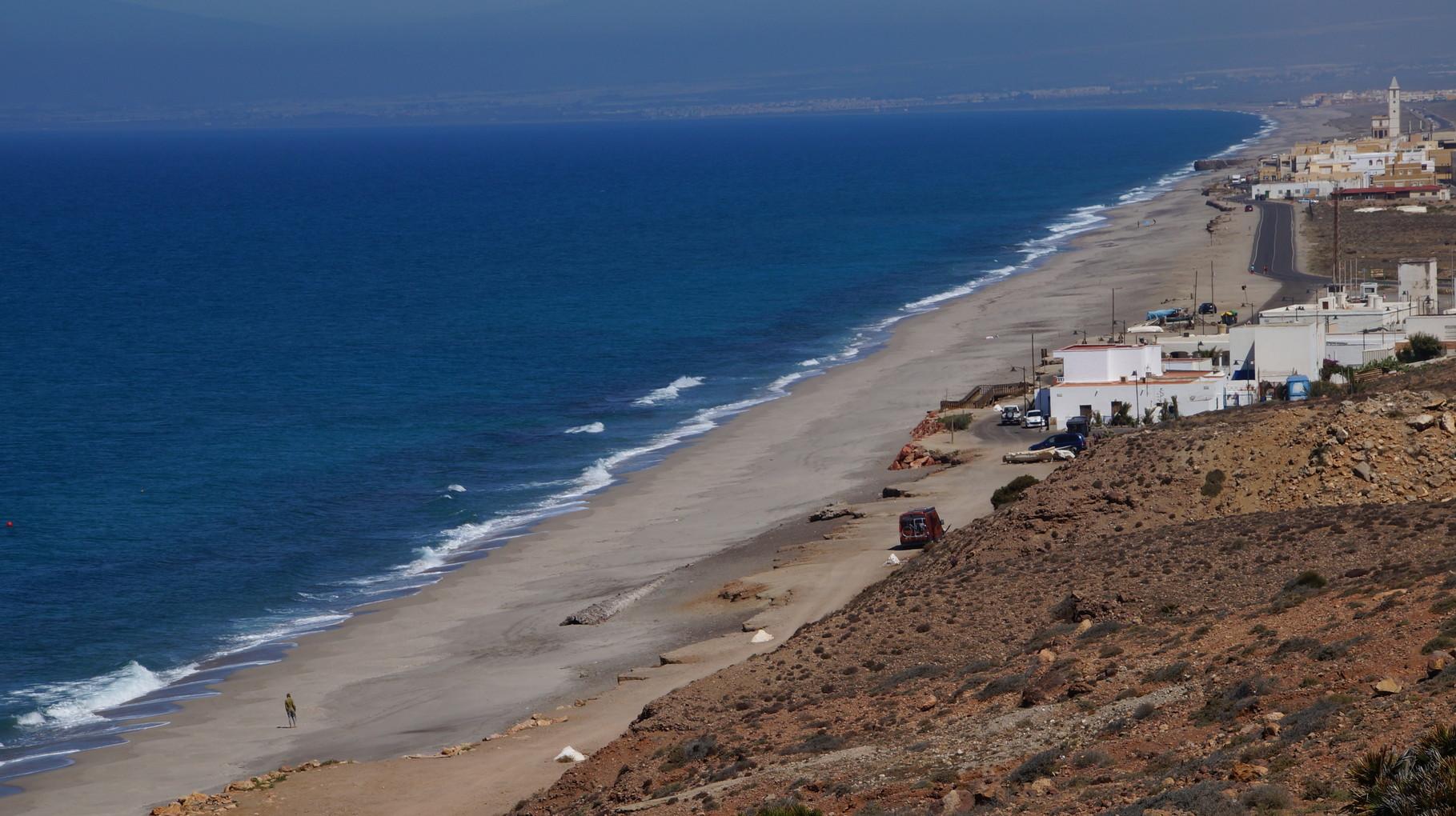 <B>Nur 25 Regentage im Jahr weist die Küstenlinie am Cabo de Gata auf.</B>