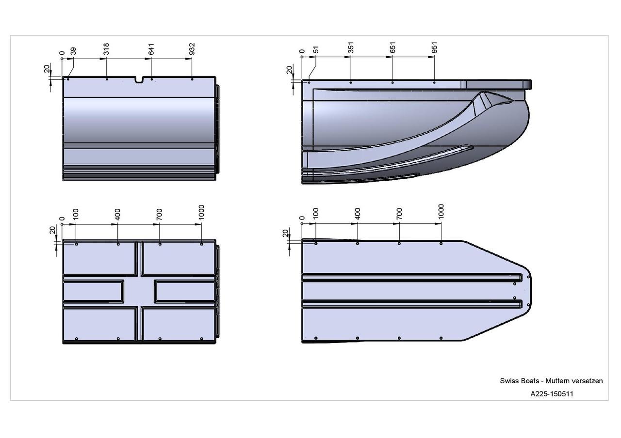 Floating body characteristics - Swiss-Boats