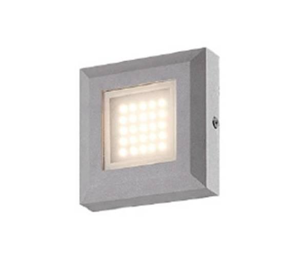 Lampada segnapasso da muro 3w per interni ed esterni for Lampada led interno