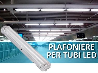 Tubi Led per sostituzione e Tubi led integrati